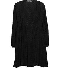 jolie short dress 12687 knälång klänning svart samsøe samsøe