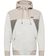 ua recover fleece fz hoodie sweat-shirts & hoodies fleeces & midlayers vit under armour