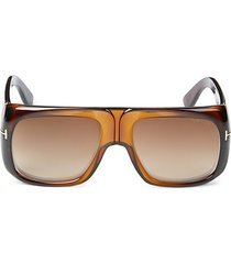 60mm injected shield sunglasses