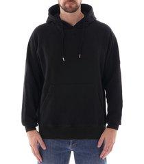 c17 hooded sweatshirt - black - swtf002