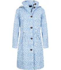 happyrainydays regenjas coat vaya cheetah viola off white-xxl