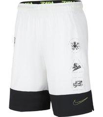 pantaloneta flex nike hombre cj2390-100 blanco