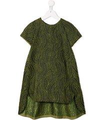 señorita lemoniez lava dress - green
