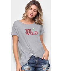 camiseta drezzup be wild feminina
