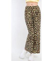 pantalon tie dye animal print amarillo night concept