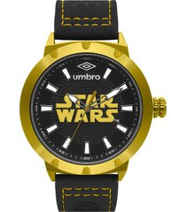 reloj star wards negro umbro