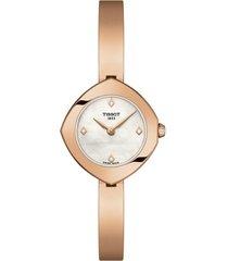 reloj tissot para mujer - femini-t  t113.109.33.116.00