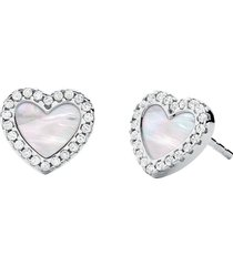 michael kors designer earrings, kors love 925 sterling silver women's earrings