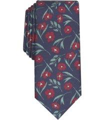 bar iii men's horizon skinny floral tie, created for macy's