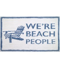 "avanti beach words 20"" x 30"" rug bedding"