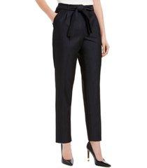calvin klein tie-front slim fit pants