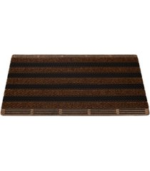 """mind reader ultimate door mat, mud scrubbing mat, greeting mat with brushes, non tracking entrance mat, 18"""" x 30"""""""