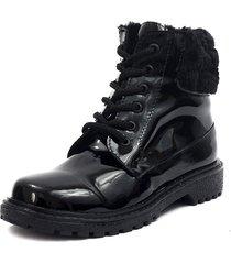 botas negro blanco perla  vc-23