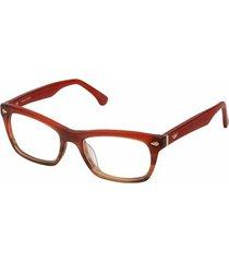 gafas oftalmicas police 1866-acnm color rojo