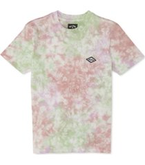 billabong big boys cotton tie-dye t-shirt