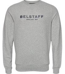 belstaff 1924 sweatshirt sweat-shirt trui grijs belstaff