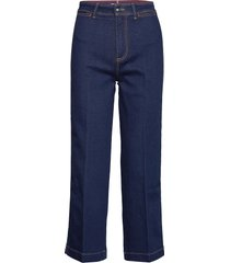 bell bottom hw c uta jeans boot cut blauw tommy hilfiger