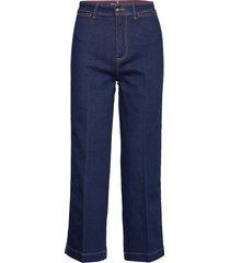 bell bottom hw c uta jeans boot cut blauw tommy hilfiger