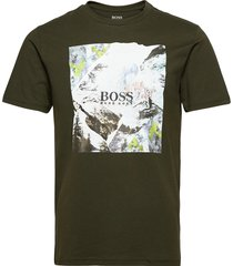 tomio 5 t-shirts short-sleeved grön boss