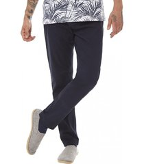 pantalon bolsillos slim azul corona