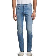 g-star raw men's 3301 slim jeans - medium blue - size 31 32