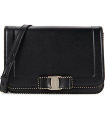 vara rw oliberty leather shoulder bag