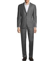 milburn iim series t regular-fit wool suit