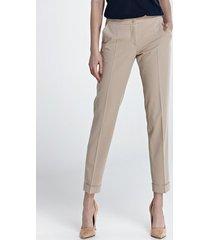 spodnie z mankietami