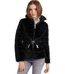 chaqueta theodora jacket negro guess