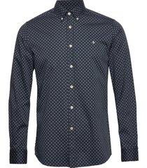 maurice button down shirt overhemd casual blauw morris