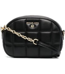 michael kors collection jet set charm crossbody bag - black