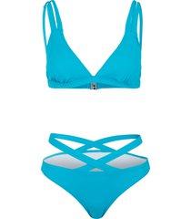 bikini  sostenibile (set 2 pezzi) (verde) - bodyflirt