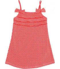 sukienka kąpielowa z filtrem uv funky red