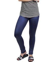 legging it shop resinada skinny azul