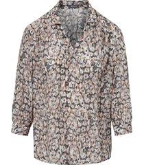 blouse met 3/4-mouwen van basler multicolour