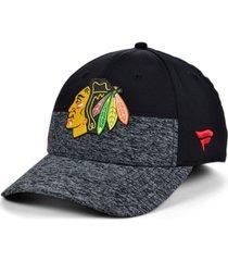 authentic nhl headwear chicago blackhawks 2020 locker room flex cap