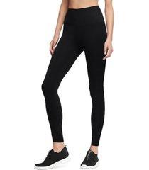 dkny women's high-waist fitted leggings