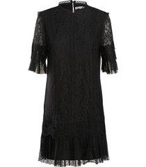 jurk mixed lace