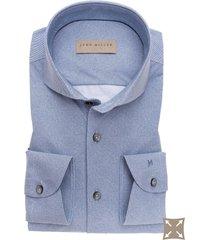 john miller overhemd licht twill cutaway stretch tailored fit