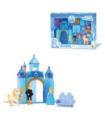 castelo musical com luz princesa do gelo  – samba toys