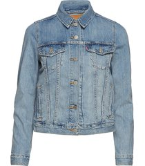 original trucker all yours jeansjack denimjack blauw levi´s women