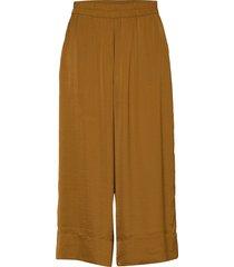 minga new trousers wijde broek bruin second female
