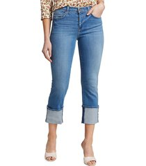 l'agence women's camila high-rise crop slim jeans - dover - size 25 (2)