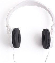 audifonos diadema blanca color blanco, talla uni