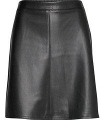 skirts woven kort kjol svart esprit casual