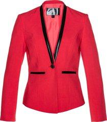 blazer corto (rosso) - bpc selection