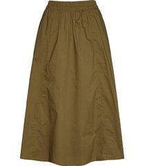 cassiagz skirt ao20 knälång kjol grön gestuz