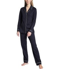 calida night lovers pyjama with collar