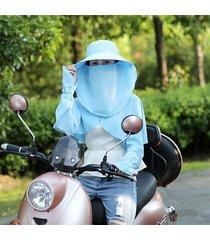 tuta da sole a tre pezzi tuta protezione solare uv da donna suit outdoor suit