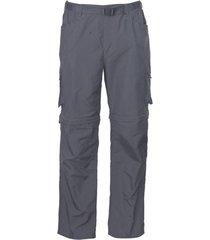 pantalón desmontable hombre gris oscuro kannú